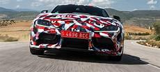 2019 toyota supra manual gearbox aero top and track