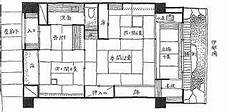 Traditional Japanese House Floor Plan Simplicity