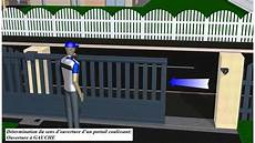 installation d un portail coulissant comment poser un portail coulissant montage et