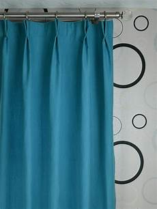 wide hudson solid pinch pleat curtains 100