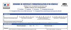 D 233 Marches Carte Grise Service D Immatriculation Des