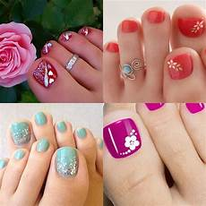 top 10 attractive toe nail designs for 2016