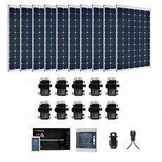 kit solaire 3000w autoconsommation enphase avec passerelle