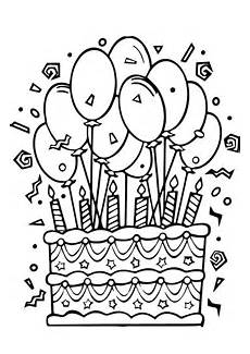 Malvorlagen Geburtstag Free Easy To Print Happy Birthday Coloring Pages Tulamama