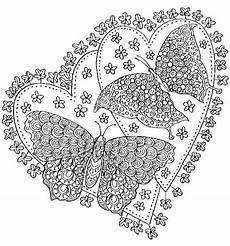 8208 ausmalbuch vorlage schmetterlinge liebe zencolor jpg