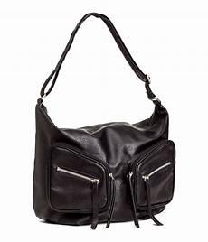 lyst h m shoulder bag in black