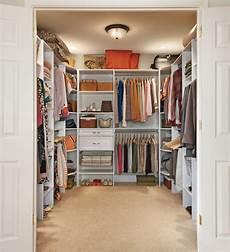 Bedroom Closet Closet Organization Ideas by Transform Your Walk In Closet With A Versatile Closetmaid