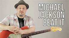Michael Jackson Beat It Guitar Lesson How To Play On