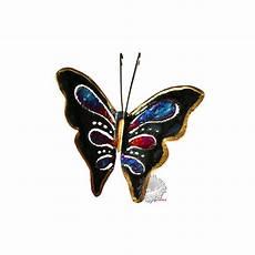Papillon D 233 Co En M 233 Tal Cuivre Bronze Papillon Unique