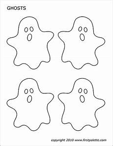 Malvorlage Geister Und Gespenster Ghosts Free Printable Templates Coloring Pages