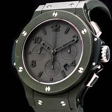 hublot big all green chronograph automatik date