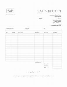 pos sales receipt template microsoft word templates