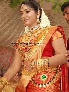 12 traditional kerala wedding jewellery gold and diamond jewellery designs navya nair in heavy