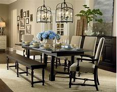 custom turned post dining table by bassett furniture