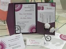 memorable wedding create modern designs with diy pocket wedding invitations