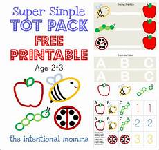 toddler preschool homeschool simple easy two 2 three 3 year old coloring activity tracing apple
