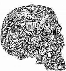 jack coltman artist super secret skull drawing