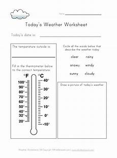 weather temperature worksheets 14691 today s weather worksheet school ideas weather worksheets worksheets and weather