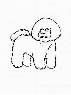 malvorlagen hunde gratis hund bichon frise ausmalbild malvorlage hund
