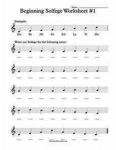 free advanced solfege worksheets music music lessons