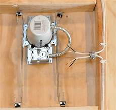 how to wire recessed lighting tabletop walk through installing recessed lighting home