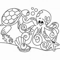 konabeun zum ausdrucken ausmalbilder unterwasserwelt
