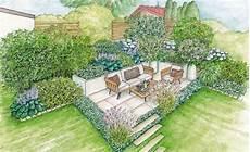 Ein Neuer Sitzplatz In Der Gartenecke Gartengestaltung