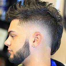 mohawk fade haircut 2019 best hairstyles for men mohawk hairstyles mullet haircut fade haircut