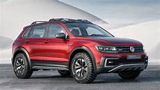 vw tiguan gte active concept is a sporty road hybrid