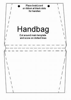 handbag card template free printable purse template handbag card briefcase card