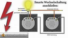 schaltung le schalter steckdose livolo smart schalter ersatz f 252 r taster kreuz und