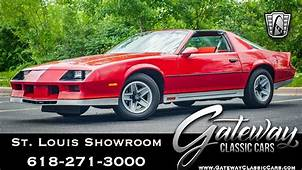 1984 Chevrolet Camaro Z28 Gateway Classic Cars St Louis