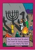 Funny Jesus Bible Cartoon Image  Stuff