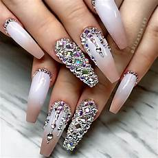 shine bright like a diamond with our ideas of luxury nails