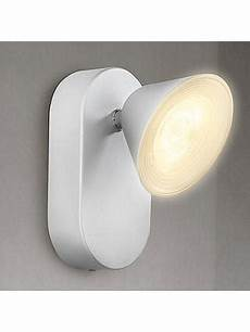 philips myliving tweed led wall light silver at lewis partners