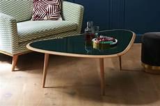table basse large edition blanc bois naturel made