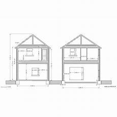 coupe profil maison plan 1 pi 232 ce dessin 233 par lecantilien