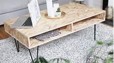 créer sa table basse 25 diy pour une table basse hellocoton