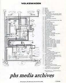 1965 Type 2 Wiring Diagram Schematic Symbols Diagram