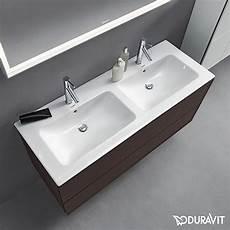 duravit waschtisch mit unterschrank duravit me by starck dobbelservant 1300x490 mm u