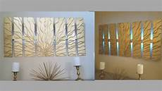 diy wall decor with in built lighting using cardboards simple and inexpensive wall decorating