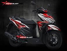 Modifikasi Motor Matic Vario by Modifikasi Motor Matic Terbaru Striping Honda Vario 150
