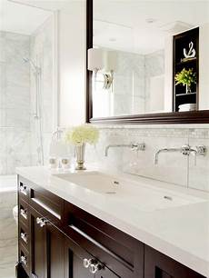 Bathroom Ideas Brown Vanity by Brown Vanity Transitional Bathroom