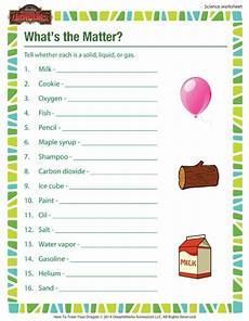 worksheets science grade 3 12559 what s the matter printable science worksheet for 3rd grade science worksheets third grade