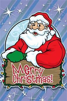 merry christmas santa card