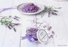 Badesalz Lavendel Selber Herstellen Diy Lila Lavendel