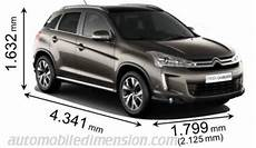 dimensions citroen c3 aircross compact suv comparison with dimensions and boot capacity