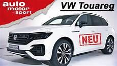 Der Neue Vw Touareg 2018 Erste Sitzprobe