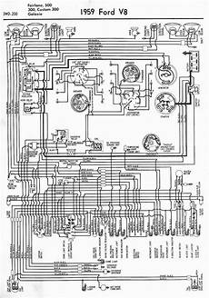 ford galaxy fuse box diagram wiring diagrams of 1959 ford v8 fairlane 500 300 custom 300 and galaxie auto wiring diagram