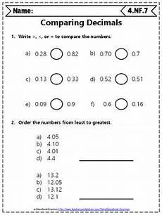 comparing decimals worksheet grade 4 7434 4th grade fractions worksheets 4th grade math worksheets fractions